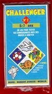 CHALLENGER 1 JEU TEST DE 5 à 7 ANS N°2 DES ANNÉES 1992 PUBLICITÉ BIBENDUM MICHELIN MANGO MAGNARD J - NOTRE SITE Serbon63 - Group Games, Parlour Games