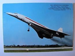 TRANSPORTS - AVION - Concorde - 1946-....: Moderne
