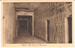 POSTAL    THEBES (TEBAS)  -ALTO EGIPTO  -TUMBA DE RAMSES IX  ( THE TOMB OF RAMESES IX) - Egipto