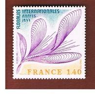 FRANCIA  (FRANCE) -  SG 2182   -       1977     FLOWERS SHOW   - MINT ** - Francia