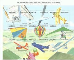 ANGOLA, H/B  AEREA AÑO 1999   MNH  ** - Angola