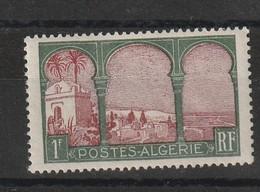 Algérie N°51 B Cinquiéme Arbre Avec Charniére * Legere - Algérie (1924-1962)