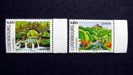 Luxemburg 1640/1 YT 1590/1 **/mnh, EUROPA/CEPT 2004, Ferien - Ongebruikt