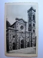 ITALIA - TOSCANA - FIRENZE - Duomo E Campanile - 1935 - Firenze