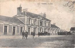 ¤¤   -  VANNES   -  La Gare   -  Chemin De Fer     -  ¤¤ - Vannes