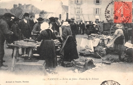 ¤¤   -  VANNES   -  Scène De Foire   -  Vente De La Friture   -  Marché   -  ¤¤ - Vannes