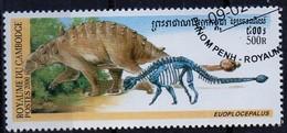 PIA  - 2000 :  CAMBOGIA  - Animali Preistorici - Euoplocepalus - Cambogia
