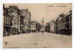 - CPA REIMS (51) - La Rue Buirette 1915 - - Reims