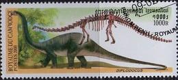 PIA  - 2000 :  CAMBOGIA  - Animali Preistorici - Diplodocus - Cambogia