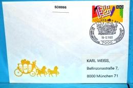 SD8866 INTERPORTUGAL 90, 500J Entdeckungen Durch Portugal, Stuttgart 18.3.1990 - [7] République Fédérale