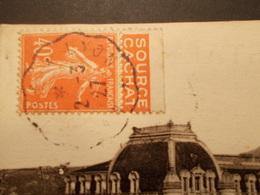 Marcophilie  Cachet Lettre Obliteration - Convoyeur Marseille à Lyon - 1927 (2013) - Marcophilie (Lettres)