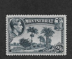 Montserrat 1943 Scott # 100 F-VF-OG Previously Hinged*,nice Color ! (BC-1) - Montserrat