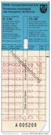 Schweiz - Biel - Städtische Verkehrsbetriebe Biel - Fahrschein Fr. 7.50 Für 12 Einfache Fahrten - Busse