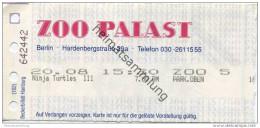 Deutschland - Berlin - Zoo Palast - Kinokarte Ninja Turtles III - Eintrittskarten