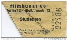 Deutschland - Berlin - Filmkunst 66 - Kinokarte - Eintrittskarten