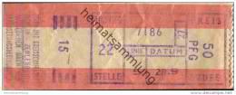 Deutschland - Berlin Zehlendorf - Stern Und Kreisschifffahrt - Fahrkarte Linie 5 50PFG - Europa