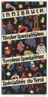 Innsbruck 40er Jahre - Tiroler Spezialitäten - 44 Seiten Werbung Für Tiroler Handwerkskunst Mit Adressen In Innsbruck - Oesterreich