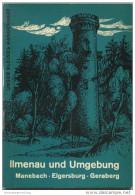 Unser Kleines Wanderheft - Ilmenau Und Umgebung 1969 - 64 Seiten Mit 4 Abbildungen Und 2 Karten - Heft Nr. 125 - VEB F. - Saxe