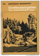 Brockhaus-Wanderheft - Greifensteingebiet Thum Ehrenfriedersdorf 1973 - 58 Seiten Mit 4 Abbildungen Und 2 Karten - Heft - Saxe