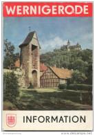 Wernigerode 1987 - 50 Seiten - Chronik - Veranstaltungsplan Sept. 1987 - Fahrplan Der Harzquerbahn - Saxe-Anhalt