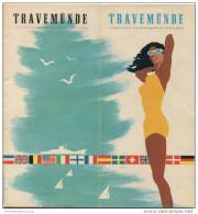 Travemünde 1962 - 24 Seiten Mit Mit über 50 Abbildungen - Titelseite Jungquist - Skizzen Krellenberg - Beiliegend Stadtp - Schleswig-Holstein