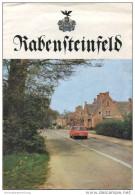 Raben Steinfeld - Faltblatt 1985 Mit 11 Abbildungen - Mecklenburg-Vorpommern