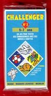 CHALLENGER 1 JEU TEST DE 5 à 7 ANS N°3 DES ANNÉES 1992 PUBLICITÉ BIBENDUM MICHELIN MANGO MAGNARD J - NOTRE SITE Serbon63 - Group Games, Parlour Games