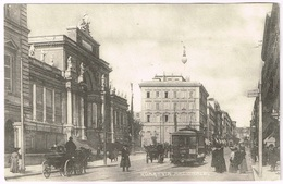 ROMA 1910 Via Nazionale With Tram Nr. 216 - Transports