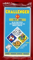 CHALLENGER 1 JEU TEST DE 5 à 7 ANS N°4 DES ANNÉES 1992 PUBLICITÉ BIBENDUM MICHELIN MANGO MAGNARD J - NOTRE SITE Serbon63 - Group Games, Parlour Games