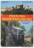 Österreich - Festung Hohensalzburg 1971 - 30 Seiten Mit 15 Abbildungen - Architecture