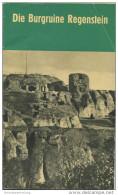 Burgruine Regenstein 1967 - 60 Seiten Mit 8 Abbildungen - Verfasser Heinz Wedler Und Erich Dülsner Oberschule Blankenbur - Saxe-Anhalt