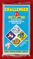 CHALLENGER 1 JEU TEST DE 5 à 7 ANS N°5 DES ANNÉES 1992 PUBLICITÉ BIBENDUM MICHELIN MANGO MAGNARD J - NOTRE SITE Serbon63 - Group Games, Parlour Games