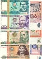 Peru Lot Set 7 Banknotes UNC/AUNC .C2. - Peru