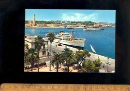 BRINDISI Puglia : Porto Interno Nave 'Carletta ? ' Ferry Boat Ship Maritime Vessel Bateau Schiff - Brindisi