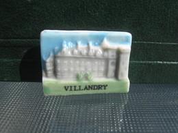 Fève Château Villandry Série  Personnalisée Châteaux De La Loire  - Fèves - Rare T Perso - History