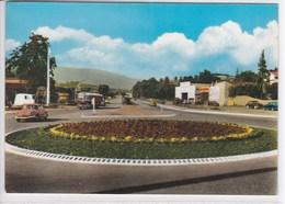 42 SAINT CHAMOND Rond Point De L'autoroute Allant à Saint Etienne , Voiture Panhard Dyna - Saint Chamond