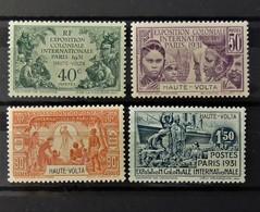 Exposition Paris 1931  //  N° 66 - 69 *  //  MH - Neufs