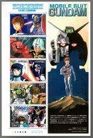 Nippon 2005 Animation Hero And Heroine Series N°  2 (Mobile Suit Gundam) - Blocks & Sheetlets