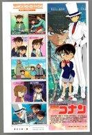 Nippon 2006 Animation Hero And Heroine Series N°  4 (Detective Conan) - Blocks & Sheetlets