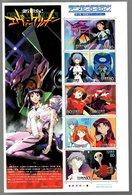 Nippon 2007 Animation Hero And Heroine Series N°  5 (Evangelion) - Blocks & Sheetlets