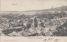 Italie - Genova - Panorama Dal Castelletto - 1911 - Genova