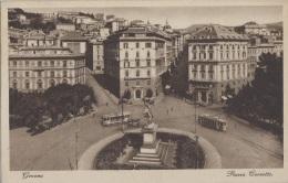 Italie - Genova - Piazza Corvetto - Tramway - 1936 - Genova (Genoa)