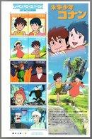 Nippon 2007 Animation Hero And Heroine Series N°  6 (Future Boy Conan) - Blocks & Sheetlets