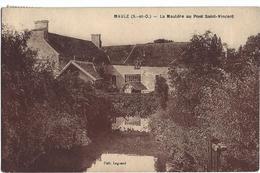 Maule La Mauldre Au Pont Saint Vincent - Maule