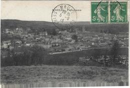 Maule Panorama Circulee En 1918 - Maule