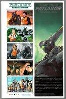 Nippon 2008 Animation Hero And Heroine Series N°  8 (Headgear Presents Patlabor The Mobile Police) - Blocks & Sheetlets