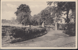 Leicestershire Postcard - Mount Saint Bernard Abbey - The Main Entrance  DC1838 - England