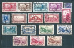 Colonie Timbres D'algérie Série De 1937/38  N°131 A 146 Complèt Oblitéré - Argelia (1924-1962)