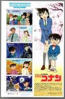 Nippon 2009 Animation Hero And Heroine Series N° 10 (Detective Conan) - Blocks & Sheetlets