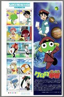 Nippon 2010 Animation Hero And Heroine Series N° 12 (Sgt. Frog Keroro Gunsō) - Blocks & Sheetlets